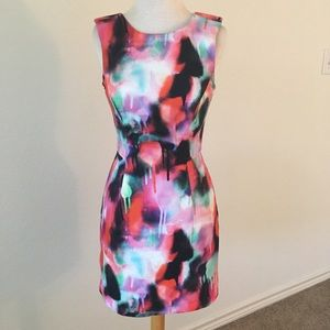 "FRENCH CONNECTION ""Miami Graffiti"" Dress, Sz 0"